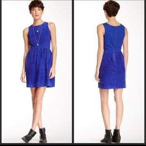 NWT Lucky Brand Goat Leather Dress